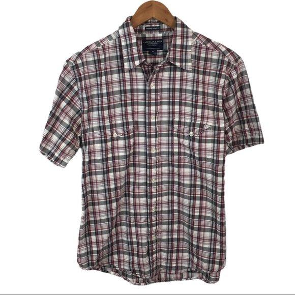 BF216 American Eagle Vintage Slim Fit Shirt M